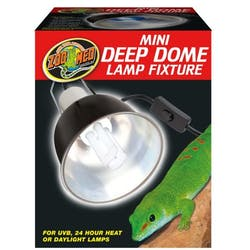 Zoo Med Mini Deep Dome Lamp Fixture